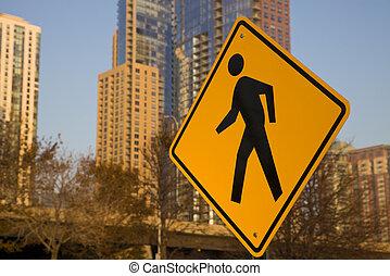 Pedestrians! Be careful!