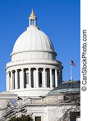 Little Rock, Arkansas - State Capitol - State Capitol of...