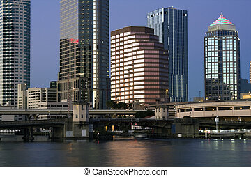 Buildings in Downtown Tampa, Florida.