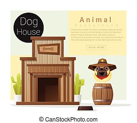 Cute animal collection Dog house 2