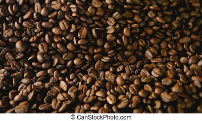 coffee roasting detail