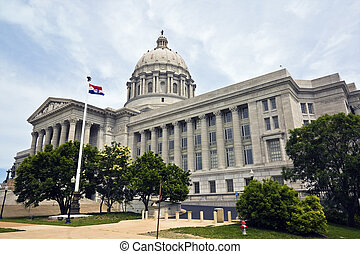 Jefferson City, Missouri - State Capitol - State Capitol of...