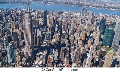 heli flight around empire state building part II - heli...