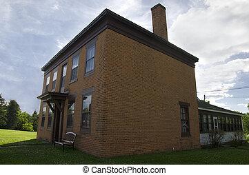 DuPuis House Corner - Photo of historic settlement DuPuis...