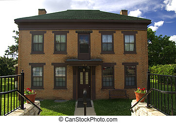 DuPuis House Front - Photo of historic Hypolite DuPuis House...