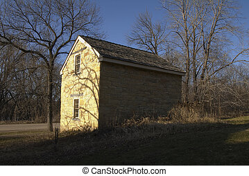 Mendota Cold Storage Building - Photo of cold storage and...