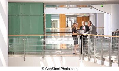 business team in discussion medium