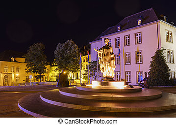 Monument of Grand-Duchess Charlotte - The historical...
