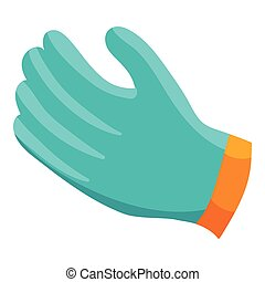 Glove icon, cartoon style - Glove icon in cartoon style...