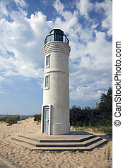 Lighthouse in Empire, Michigan, USA