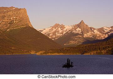 Sunrise in Glacier National Park