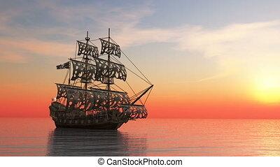 sailing boat - Image of a sailing boat.