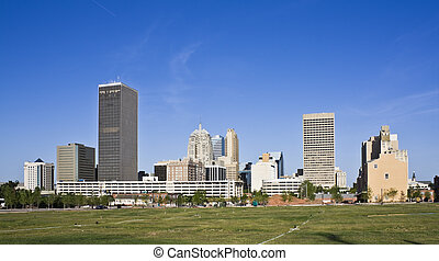 Oklahoma City - Skyline of Oklahoma City, Oklahoma.