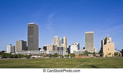 Oklahoma City - Skyline of Oklahoma City, Oklahoma.