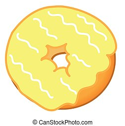 Yellow Donut