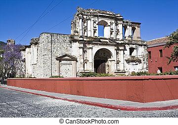 La Compania de Jesus in Antigua, Guatemala.