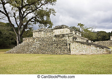 antiguo, Escaleras,  Copan