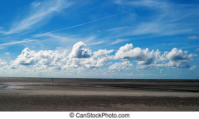 On The North Sea Beach of St Peter-Ording