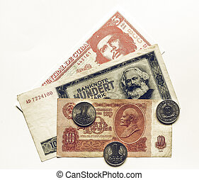 Vintage Money - Vintage looking Money from the Communist...