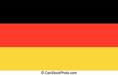 flag of germany (official colors)