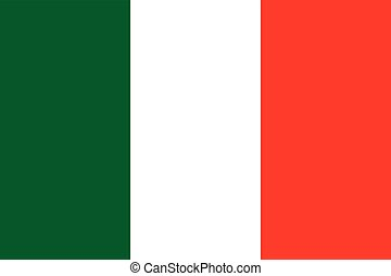Italy flag (official colors)