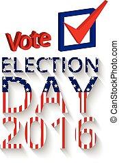 Voting concept letter