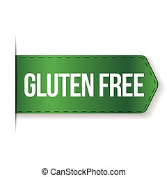 Gluten Free sign ribbon