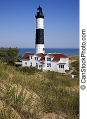 Big Sable Point Lighthouse in Michigan - Big Sable Point...
