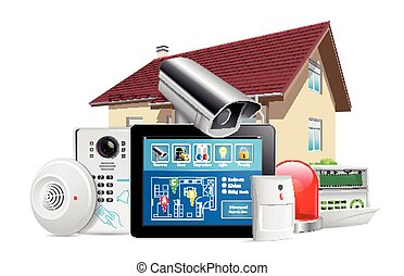 Home security system concept