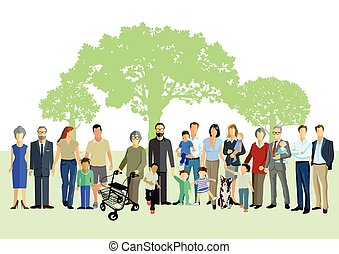 Familienwerte.eps - Happy Generation and Family Portrait