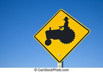 Be careful! Farmers!
