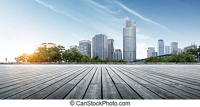 modern building in hangzhou - Modern buildings in Hangzhou...