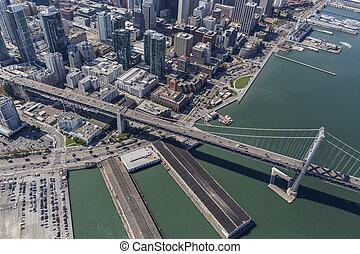 San Francisco and Bay Bridge Waterfront