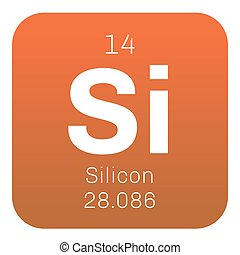 Silicon  chemical element