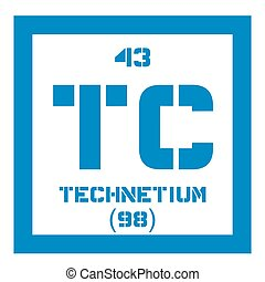 Technetium chemical element