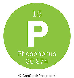 Phosphorus chemical element. Highly reactive element....