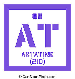 Astatine chemical element. Radioactive chemical element....