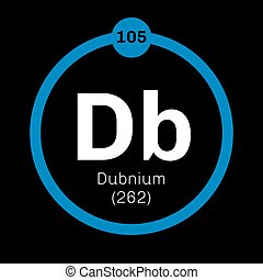 Dubnium chemical element Radioactive synthetic element...