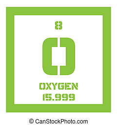Oxygen chemical element. Highly reactive nonmetal and...