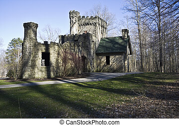 Squires Castle - historic landmark of Ohio