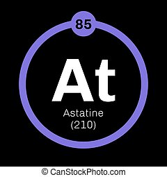 Astatine chemical element Radioactive chemical element...