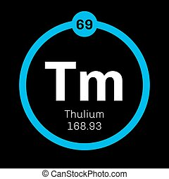 Thulium chemical element Member of the lanthanide series...
