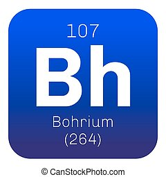 Bohrium chemical element Radioactive synthetic element...