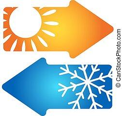 Symbol air conditioning climatisati - Air conditioning...