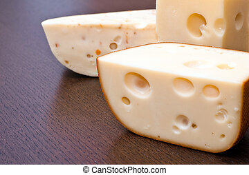 Cheese close-up