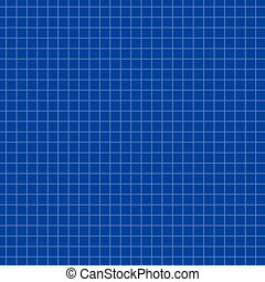 Math paper texture background on blue. Sheet of exercise...