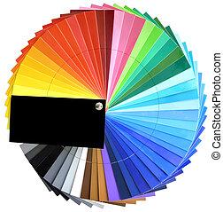 multicolore, palette