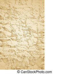 Vector Antique Paper - Distressed paper. Easy to change...