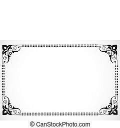 Vector Decorative Frame - Detailed vector decorations. Great...
