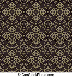 Repeating vector background pattern. The pattern is included as a seamless swatch. Very easy to edit.